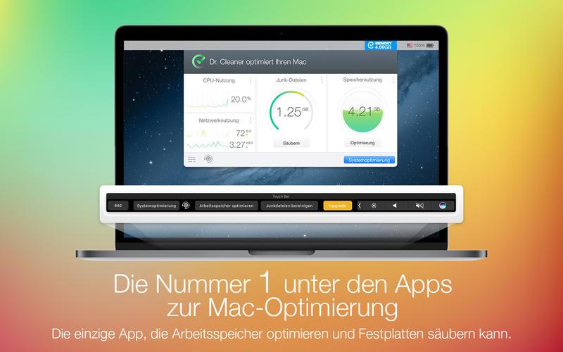 Dr. Cleaner: Datenträger, Speicher, System Optimiz Screenshot