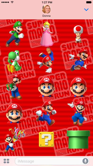 Sticker imessage - Super Mario Run Stickers En El App Store
