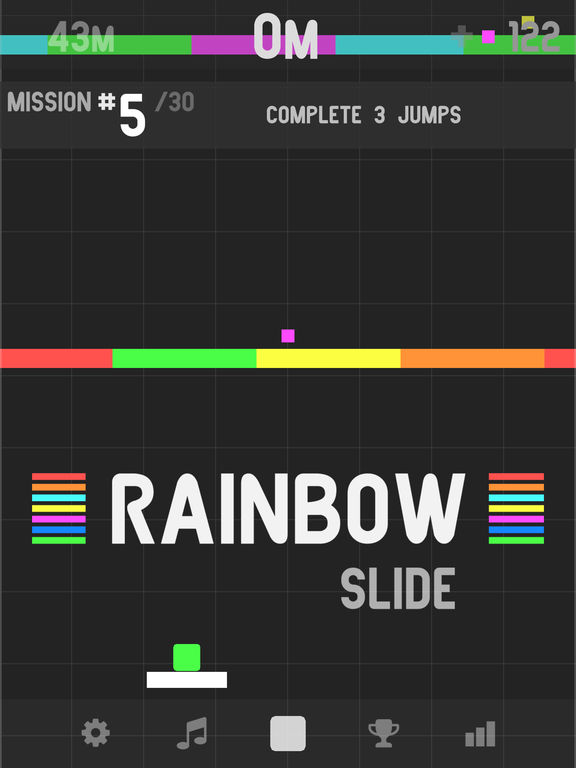 Screenshot 1 Rainbow Slide