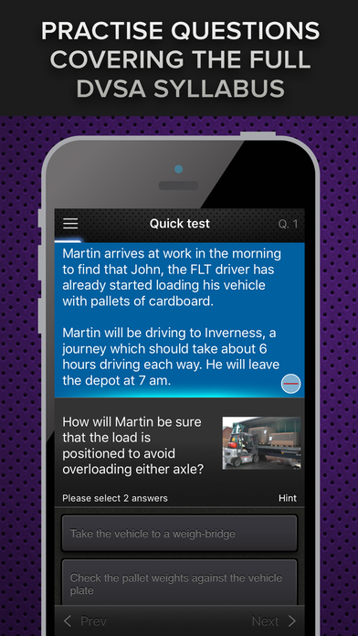 download LGV & PCV Driver CPC Case Study Test Module 2 appstore review