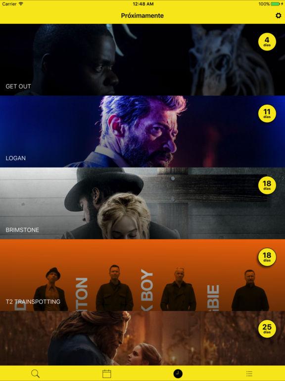 Morfilms: Lista de películas Screenshot
