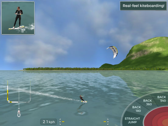 Screenshot 1 Kiteboard Hero