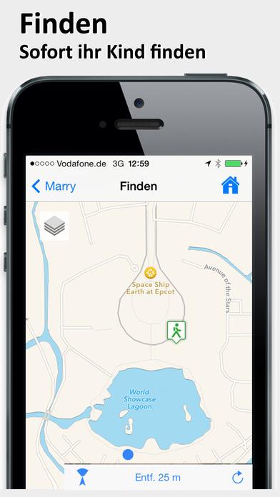 Little Nanny Eltern - GPS Handy Tracker Screenshot