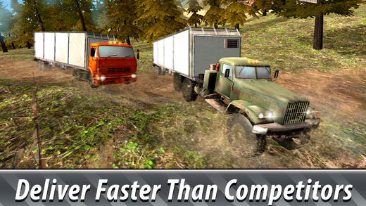 Offroad Cargo Truck Simulator 3D Full Screenshots
