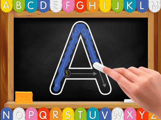 My First Alphabet Phonics Handwriting and Tracing Screenshot