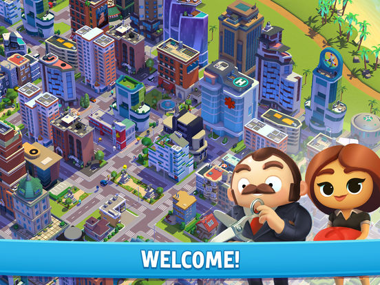 City Mania: Town Building Game Screenshots
