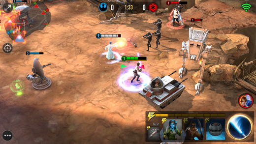 Star Wars: Force Arena für iOS