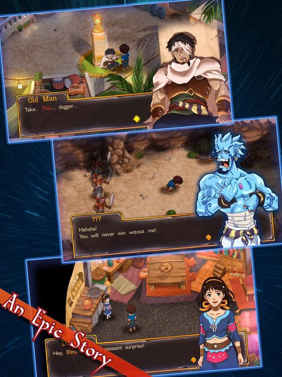 Screenshot 4 RPG Djinn Caster