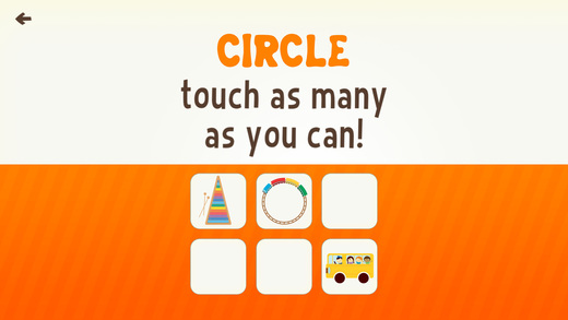 Toddler Learning Games Ask Me Shape Games for Kids Screenshots