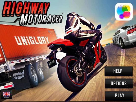 autoroute Moto Racer (3d vélo jeu de course) iPad