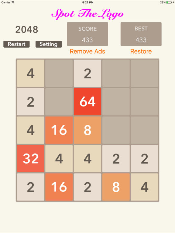 2048 5x5 6x6: Puzzle Screenshots