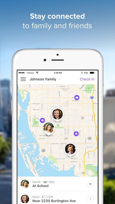 Life360 GPS Family Locator - Find iPhone & Friends Screenshot
