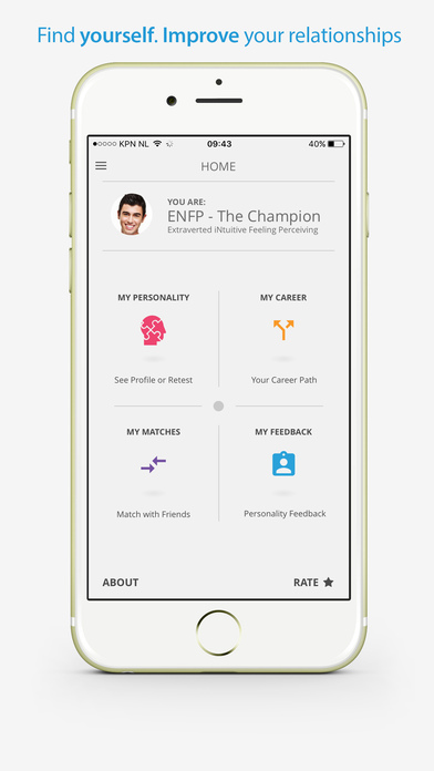 download PersonalityMatch - Personality Test appstore review