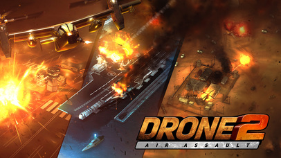 Drone 2 Air Assault iOS Screenshots