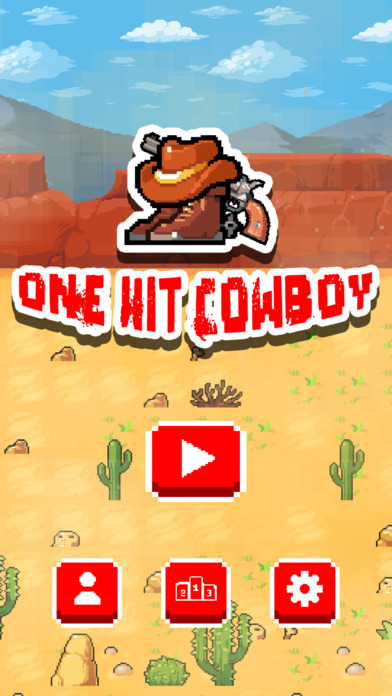 One Hit Cowboy iOS Screenshots