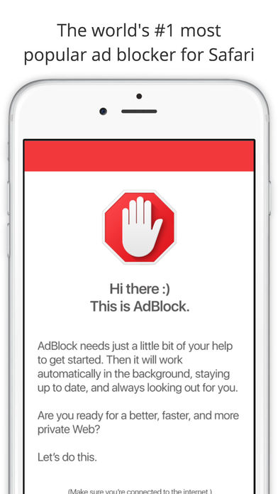 Screenshot for AdBlock for Mobile in Denmark App Store