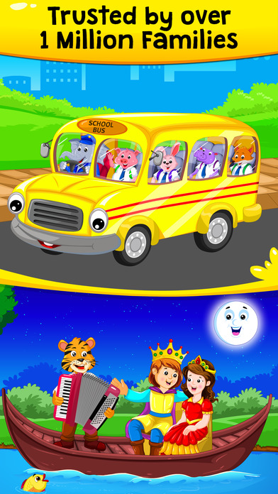 download KidloLand Nursery Rhymes, Toddler Learning Games appstore review