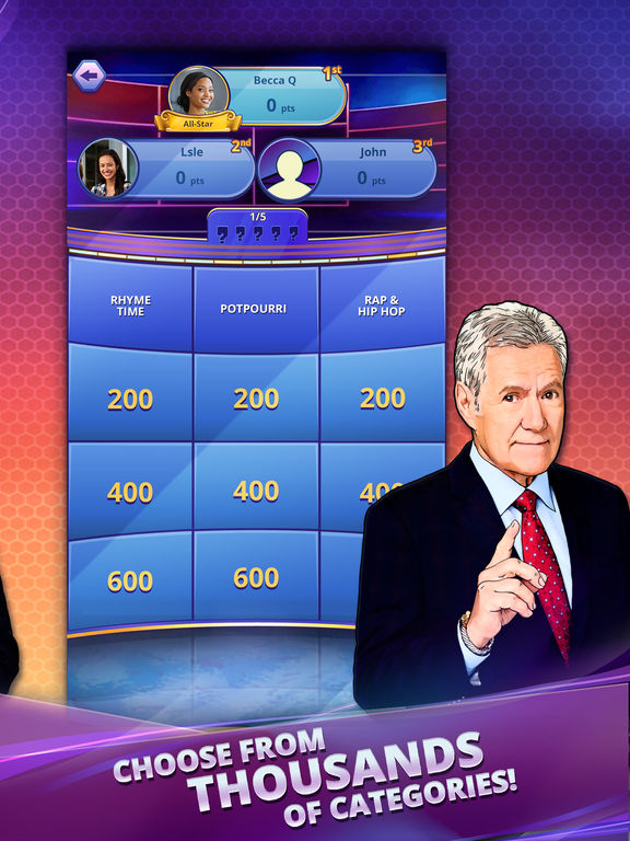 Screenshot 3 Jeopardy! World Tour