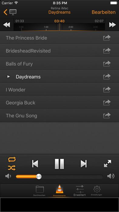 VLC Remote Free Screenshot