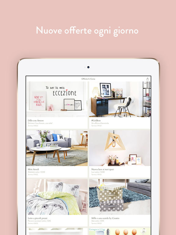 Dalani mobili design arredamento casa accessori sull for App arredamento casa