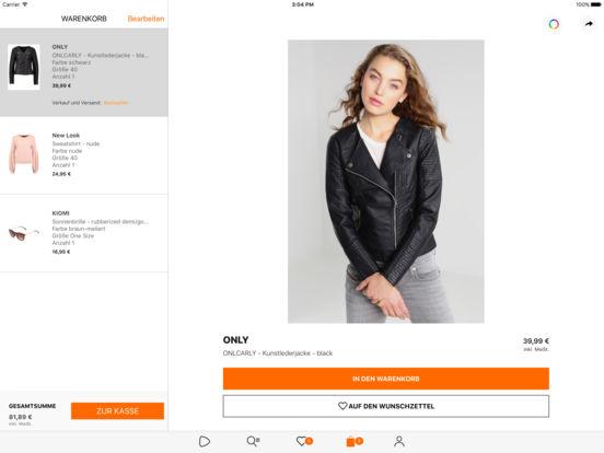Zalando - Mode, Shopping und Fashion Trends Screenshot