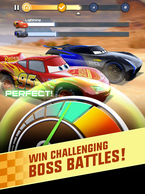 Cars: Lightning League Screenshots
