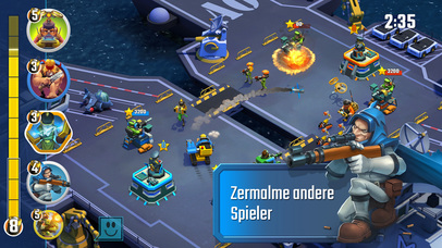 Screenshot 1 Blitz Brigade: Rival Tactics