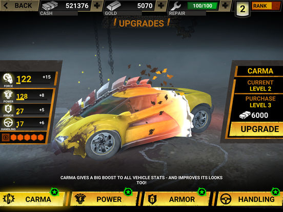 Screenshot 4 Carmageddon Crashers-Drag Race