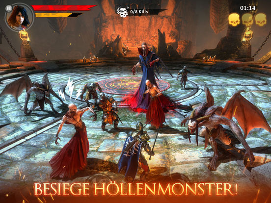 Screenshot 4 Iron Blade: Medieval Legends RPG