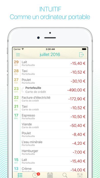 Screenshot Frugi - Gestionnaire de finances personnelles pour