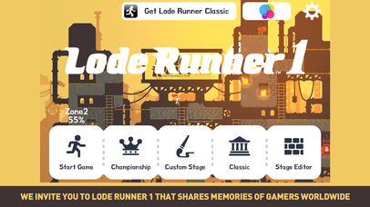 Lode Runner 1 iOS Screenshots