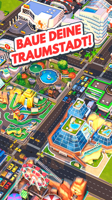 Traffic Panic Boom Town iOS Screenshots