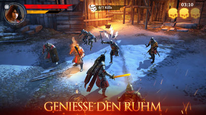 Iron Blade: Medieval Legends RPG iOS Screenshots