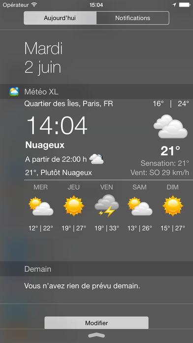 download Météo France et Météo Suisse XL  PRO apps 3
