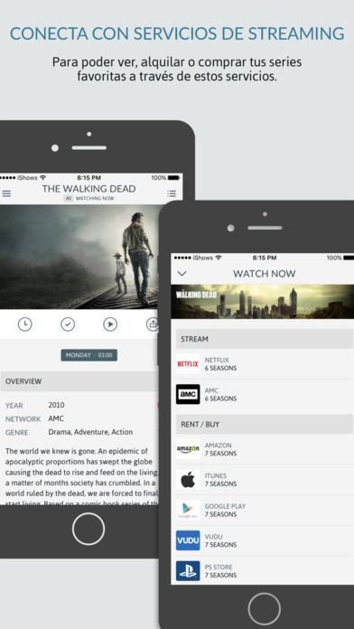 iShows TV - El gestor de series de TV definitivo Screenshot