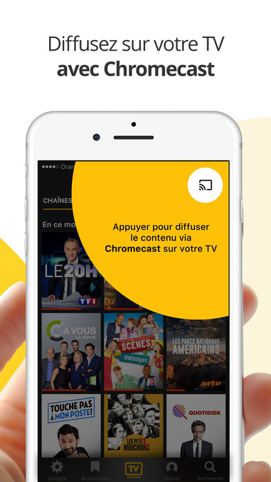 Molotov : TV en direct, replay TV, et plus iPhone
