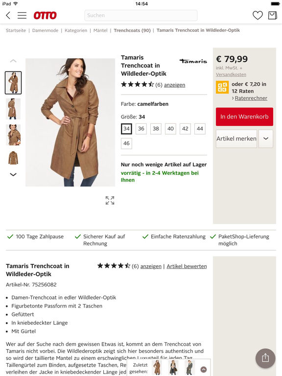 Otto Shopping F R Mode Wohnen Technik Im App Store