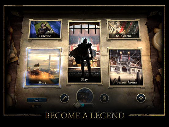 The Elder Scrolls: Legends Heroes of Skyrim Screenshot