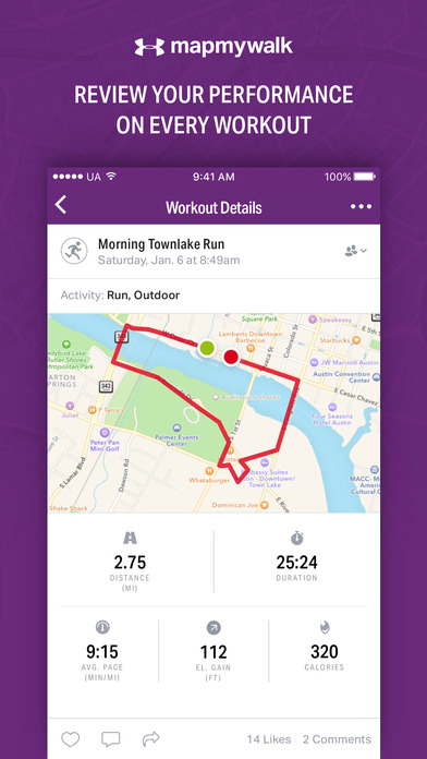 download Map My Walk - GPS Walking & Step Tracker appstore review