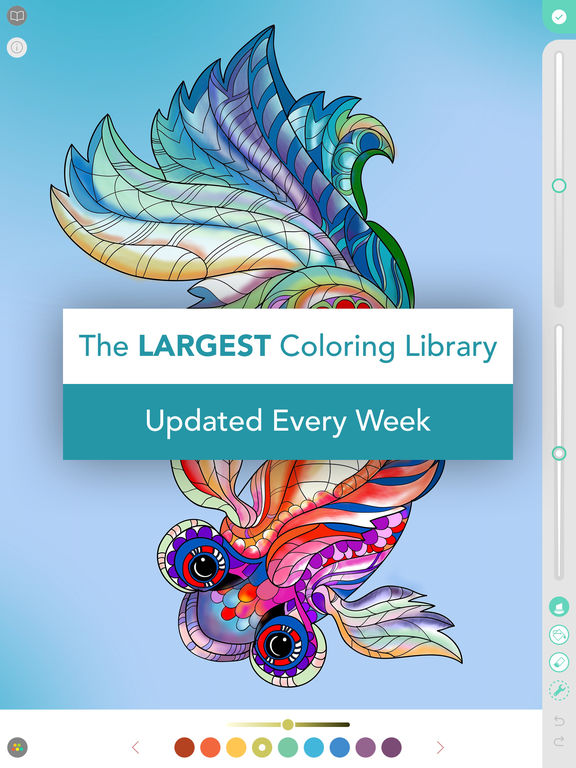 Ipad Coloring Book Le Pencil : Pigment coloring book for adults on the app store