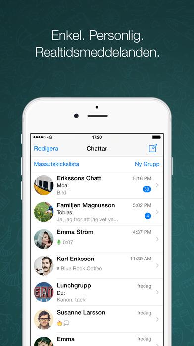 iPhone-skärmavbild 1