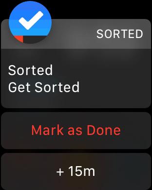 Sorted - Domina tu día Screenshot