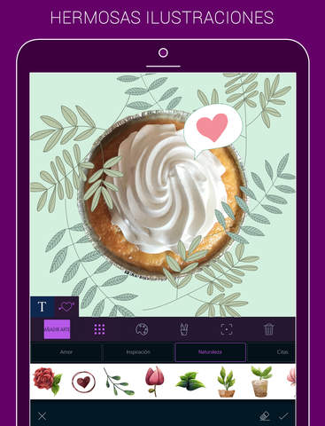 File New - Text on Photo & Typography Maker Screenshot