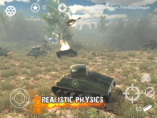 Screenshot 4 Realistic Battle Tank