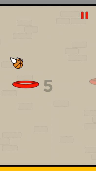 Screenshot 1 Flappy Dunk