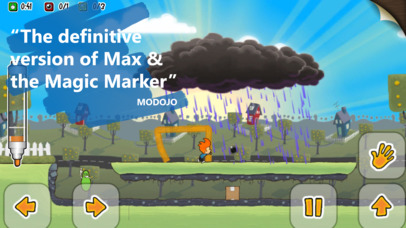 Max & the Magic Marker - Remastered iOS Screenshots