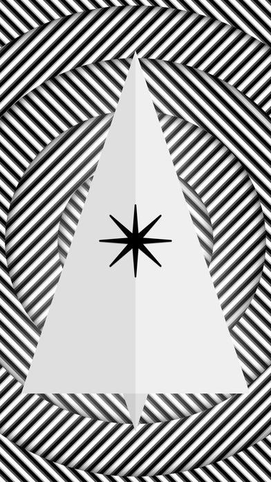 Christmas Day monochrome Screenshot