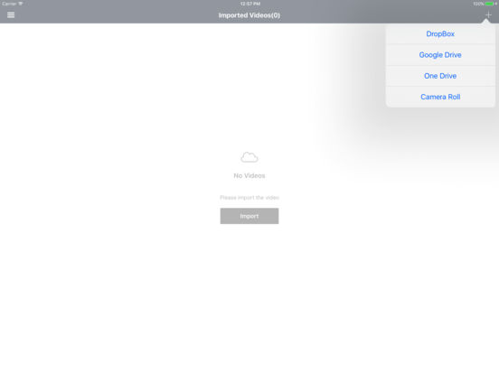 TuDa - Video File Manager For Clouds Screenshot