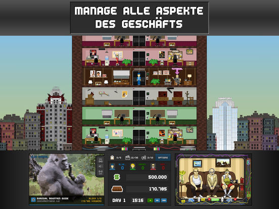 Screenshot 4 Empire TV Tycoon