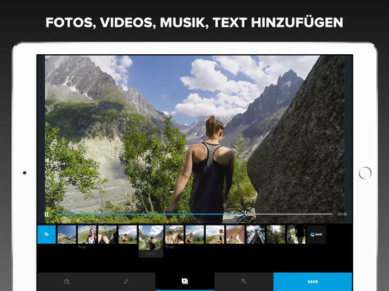 Quik - GoPro Video-Editor - Fotos mit Musik Screenshot